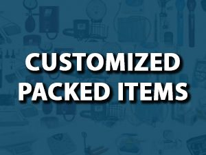Customized Packed Items
